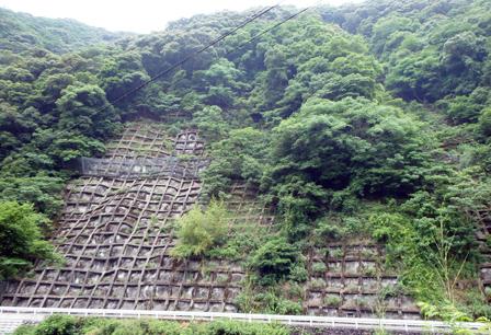 球磨田浦線11年発生災害復旧事業設計調査 芦北町吉尾地内